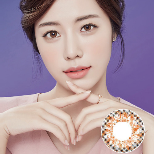 Lens Story Anello No 1 Brown Big Size Contact Lenses Sexy Eyes Cats eye  Kpop Idol Style Soft Daily Cosmetic Color Makeup Lens Pitchy