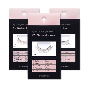 etude house,my beauty tool eyelashes