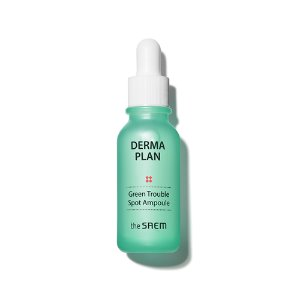 the saem,derma plan green trouble spot ampoule