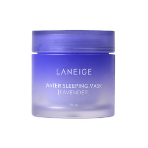 laneige,water sleeping mask lavender